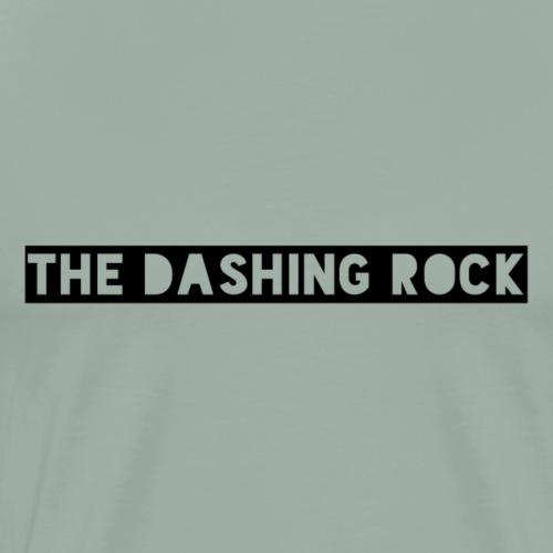 The Dashing Rock Black Logo - Men's Premium T-Shirt