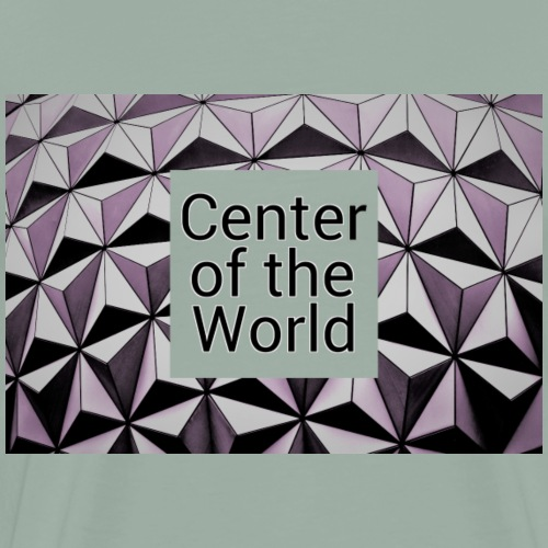 Epcot - Center of the World - Men's Premium T-Shirt