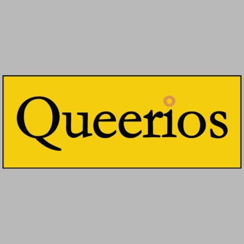 Parody Logo: Queerios - Men's Premium T-Shirt