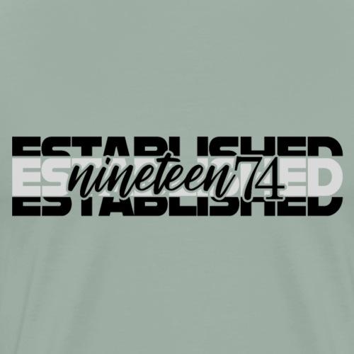 Established nineteen74 - Men's Premium T-Shirt