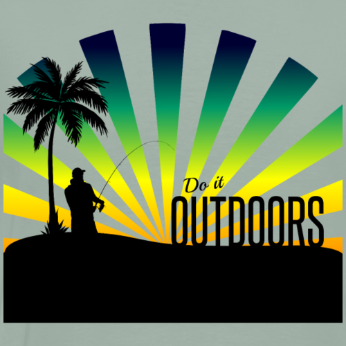 Do It Outdoors California Sunset - Men's Premium T-Shirt