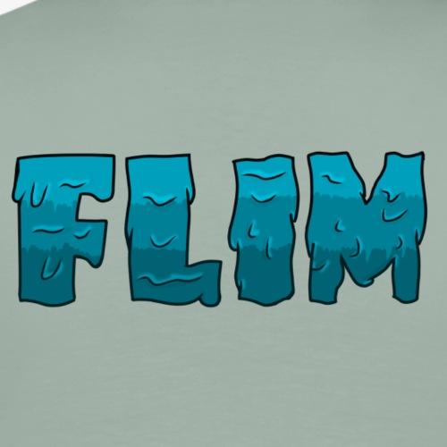 slime flim logo (blue) - Men's Premium T-Shirt