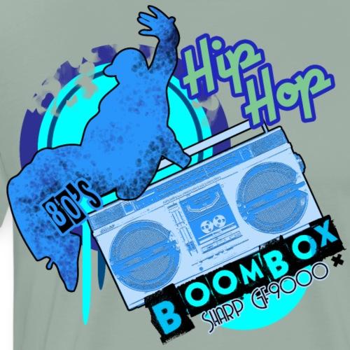 Boombox Sharp GF-9000 Ghettoblaster - Men's Premium T-Shirt