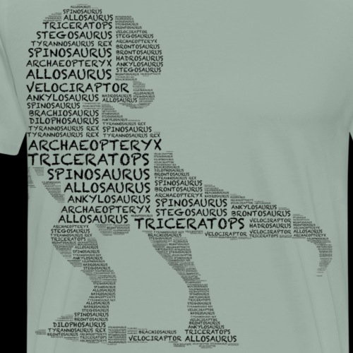 Dinosaur of Dinosaurs - Men's Premium T-Shirt