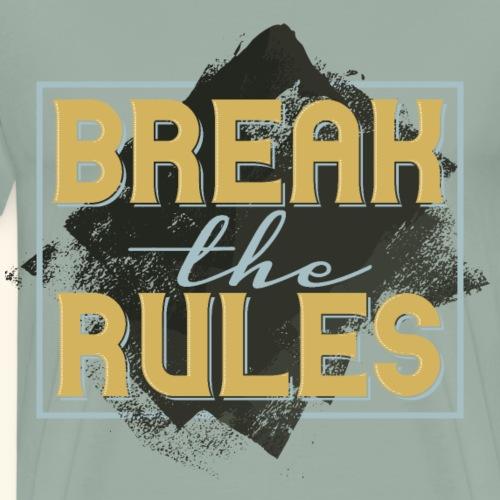 0418 Oleg Biker font S5 - Men's Premium T-Shirt