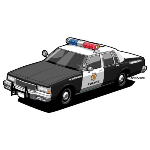 Caprice Classic Police Car - Men's Premium T-Shirt