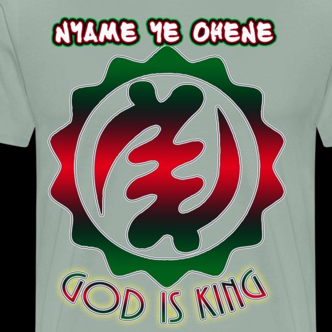 God is King Adinkra