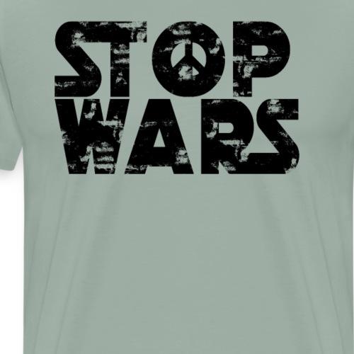Stop Wars (Star Wars) - Anti-war - Men's Premium T-Shirt