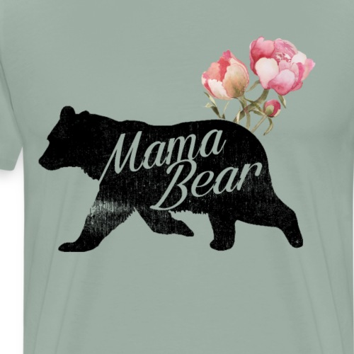 Mama Bear, Mommy Bear, Mother Bear, Mummy Bear - Men's Premium T-Shirt