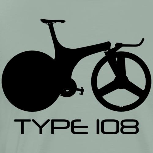 Lotus Sport Type 108 Bicycle (Black) - Men's Premium T-Shirt