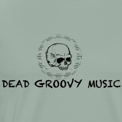 Dead Groovy Music - Basic Logo - Men's Premium T-Shirt
