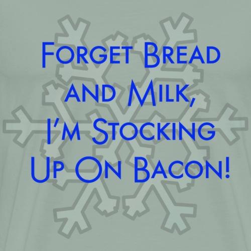 bread and milk - Men's Premium T-Shirt