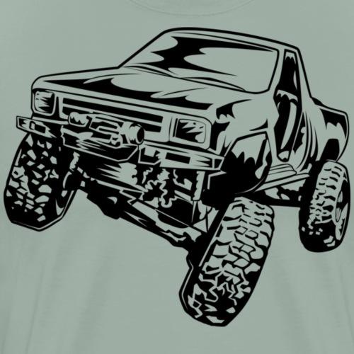 Truck Crawler - Men's Premium T-Shirt