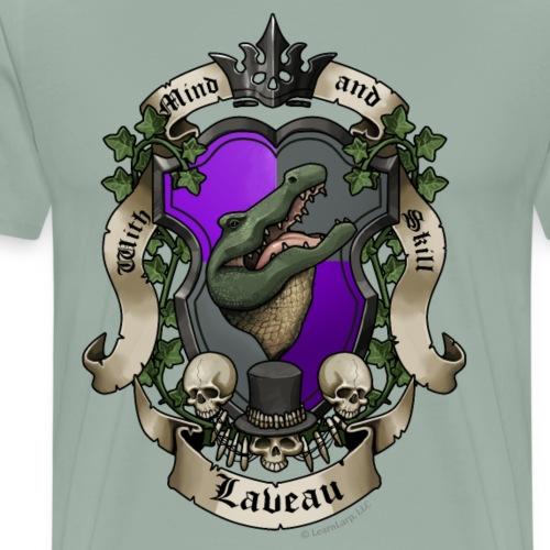 Lakay Laveau House Crest - Men's Premium T-Shirt