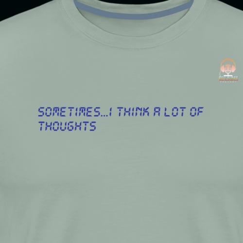 Thoughts1 - Men's Premium T-Shirt