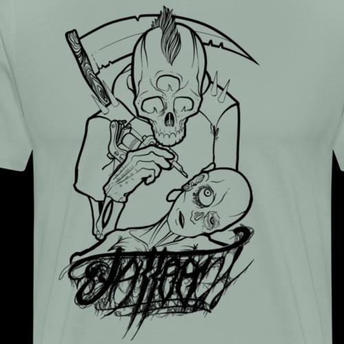 Dead's art. - Men's Premium T-Shirt