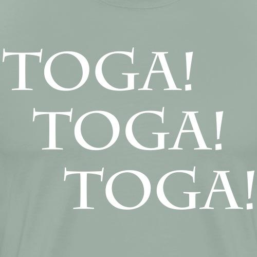 TOGA! TOGA! TOGA! Romans and Greeks Party on... - Men's Premium T-Shirt