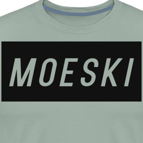 MOESKI LOGO - Men's Premium T-Shirt
