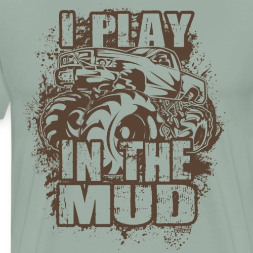 Mud Truck Freestyle - Men's Premium T-Shirt
