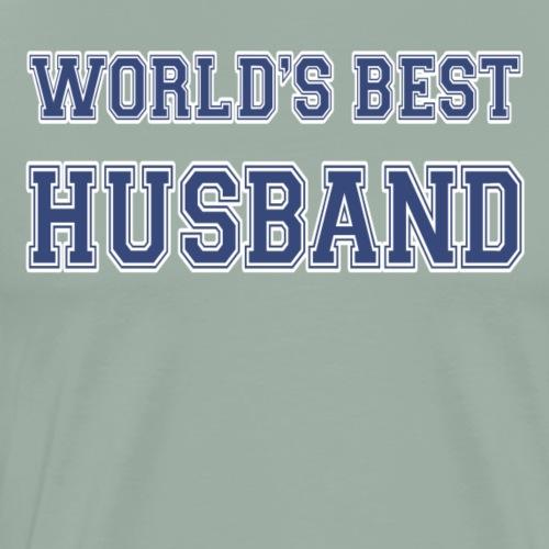 World's Best Husband Athletic - Men's Premium T-Shirt