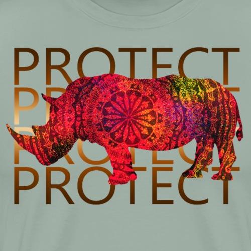 protect rhino - Men's Premium T-Shirt