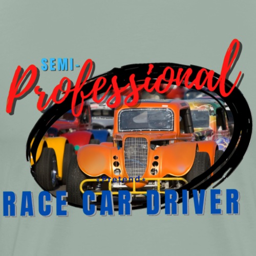 semi professional legends pretend race car driver - Men's Premium T-Shirt