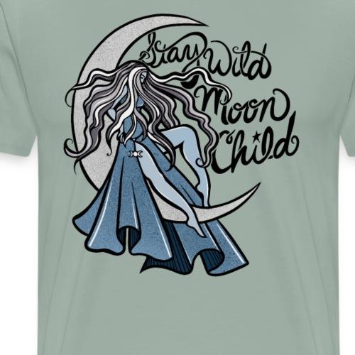 Stay Wild Moon Child - Men's Premium T-Shirt