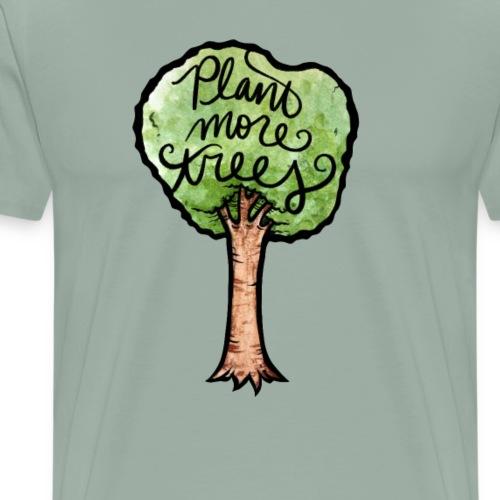 Plant More Trees - Men's Premium T-Shirt