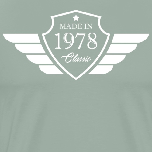 Made in1978 Tshirt 40th Birthday's Gift - Men's Premium T-Shirt
