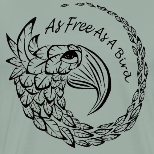 As Free As A Bird - Men's Premium T-Shirt