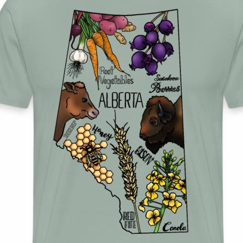Foods of Alberta - Men's Premium T-Shirt