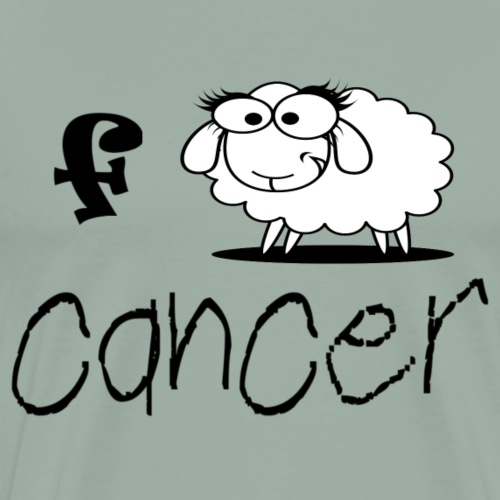 'F' Ewe Cancer - Men's Premium T-Shirt