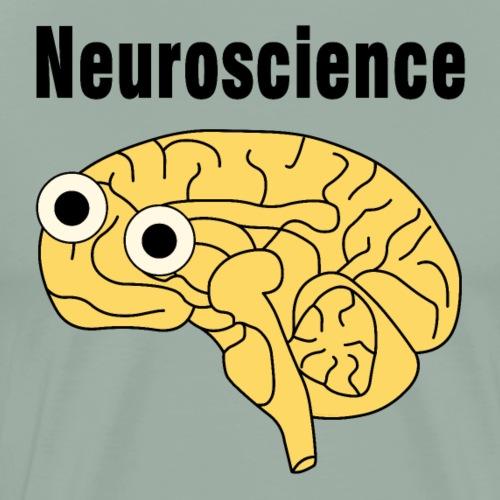 Neuroscience Brain - Men's Premium T-Shirt