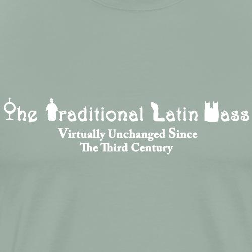 TRADITIONAL LATIN MASS - Men's Premium T-Shirt