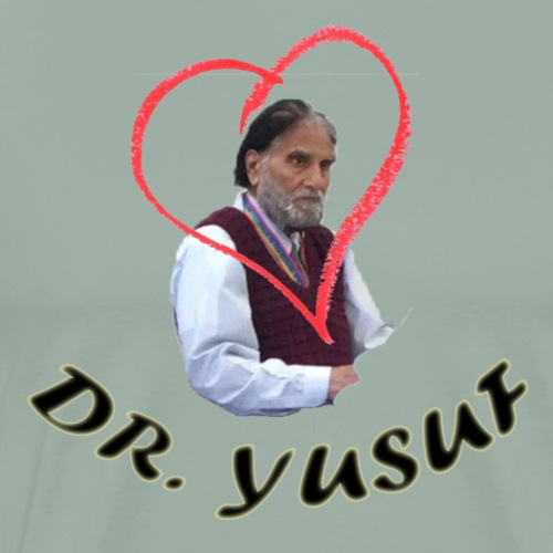 I ♥ Dr. Yusuf - Men's Premium T-Shirt