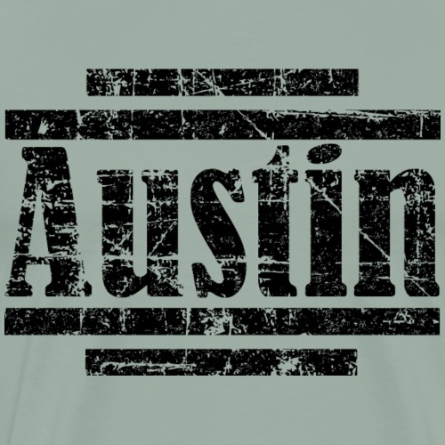 Austin (Vintage Black) - Men's Premium T-Shirt