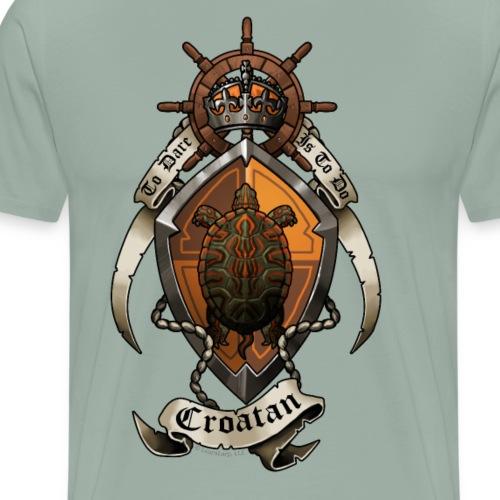 House Croatan Crest - Men's Premium T-Shirt