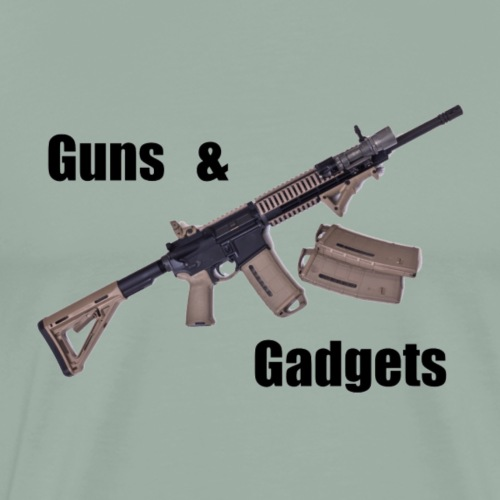 Guns and Gadgets - Men's Premium T-Shirt
