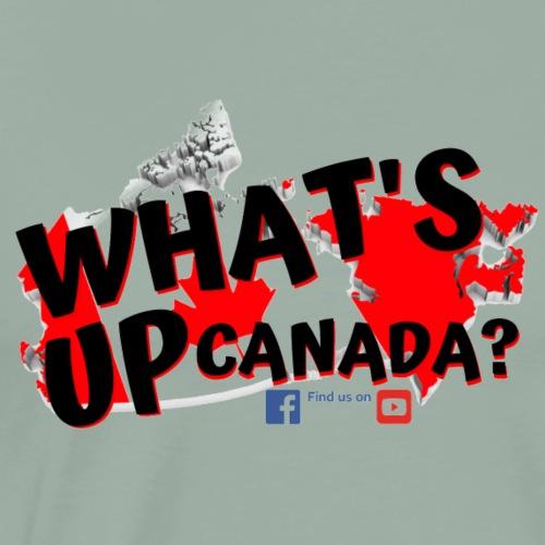 whats up canada - Men's Premium T-Shirt