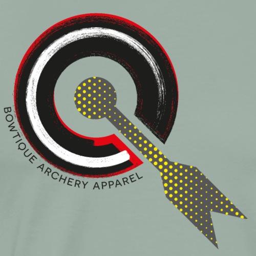 BOWTIQUE Archery Apparel Grid (by BOWTIQUE) - Men's Premium T-Shirt