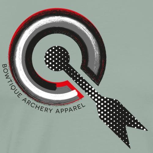 BOWTIQUE Archery Apparel Asphalt (by BOWTIQUE) - Men's Premium T-Shirt
