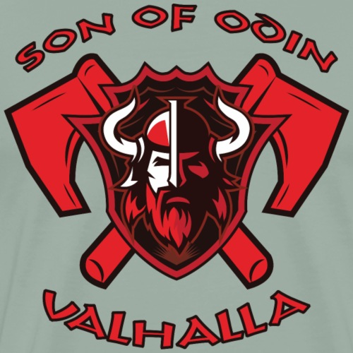 Son Of Odin - Valhalla - Men's Premium T-Shirt