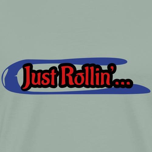 Speedwheel rolling little - Men's Premium T-Shirt