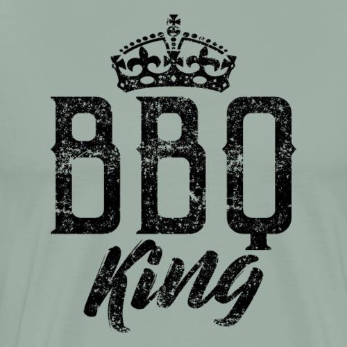 BBQ Barbeque King - Men's Premium T-Shirt