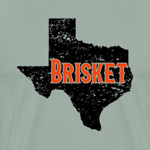 State of Texas Brisket BBQ Barbeque - Men's Premium T-Shirt