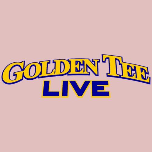 Golden Tee LIVE logo (2005-2008) - Men's Premium T-Shirt