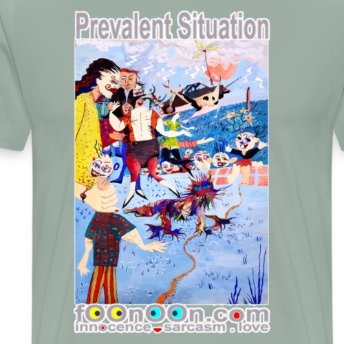 Prevalent Situation - Men's Premium T-Shirt