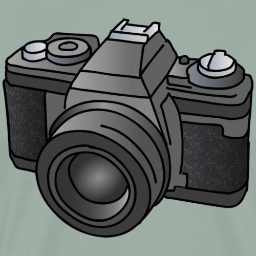 Camera, SLR, photography - Men's Premium T-Shirt