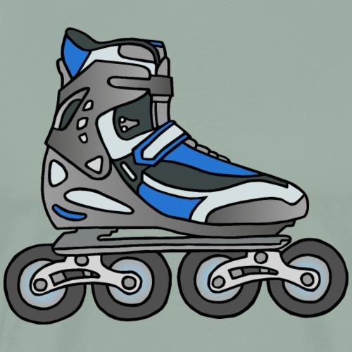 Inline skates, roller blades - Men's Premium T-Shirt