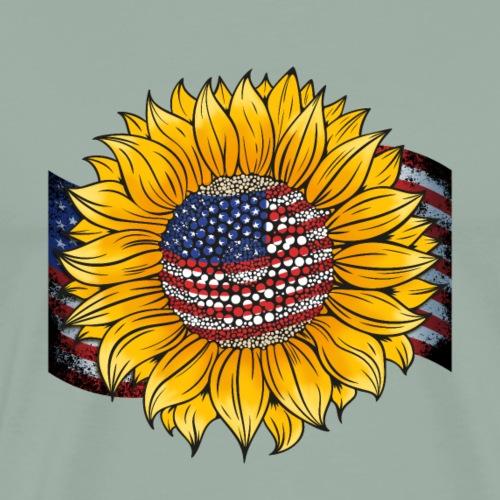 Sunflower Usa - Men's Premium T-Shirt